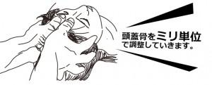 あたまの整体法頭蓋骨調整法