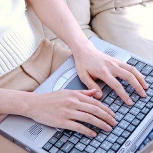 パソコン手首指