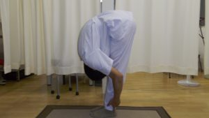 前屈柔軟体操