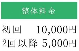 整体料金初回10000円http://大阪門真整骨院.jp/content_5