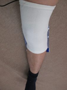 膝サポーター④蒸れにくい素材