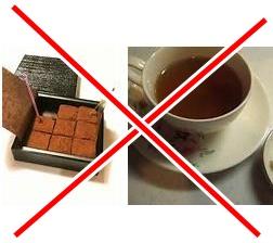 カフェイン紅茶チョコレート