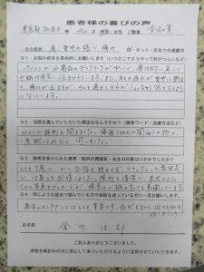 肩背中の痛み東京都杉並区