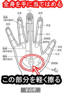 尾骨の調整