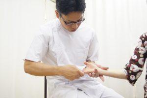手指の調整手首