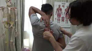 フィジークの肩甲骨はがし (1)