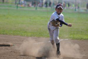 野球投球ピッチャーの野球肩
